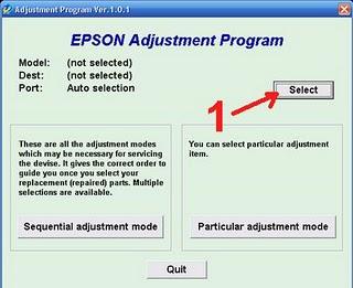 Epson Tx111 Resetter